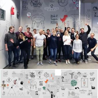 Grafika ir piešiniai ant sienų / Tadas Šimkus / Darbų pavyzdys ID 629971