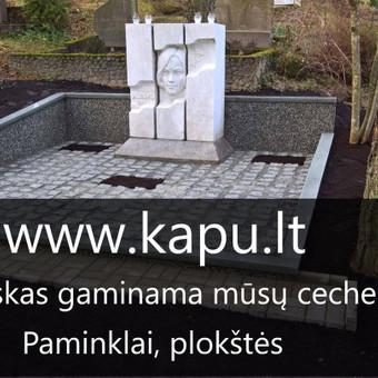 Kapų dengimas granitinėmis trinkelėmis, dengimas granito plokšte