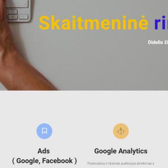 Skaitmeninė rinkodara / soc. tinklų marketingas / Lukas Ezerskis / Darbų pavyzdys ID 631341