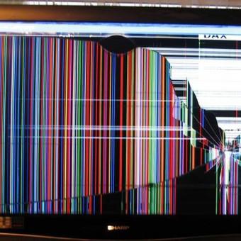 Televizorių ekranų keitimas