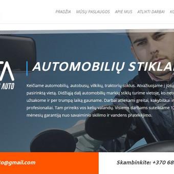 Automobilių stiklų remonto įmonės https://clearglassauto.lt/ internetinis puslapis.