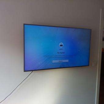 Televizoriaus tvirtinimas Jūsų namuose.