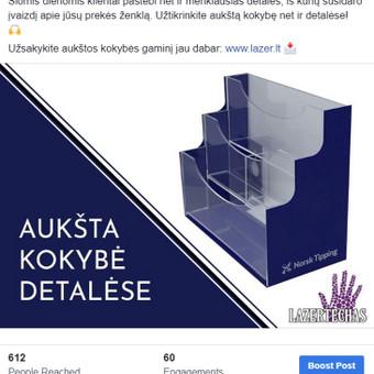 Efektyvus socialinių tinklų marketingas / Austėja Šidlauskaitė / Darbų pavyzdys ID 634471