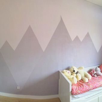 Sienu dekoravimas / Andrej Suchoj / Darbų pavyzdys ID 638841