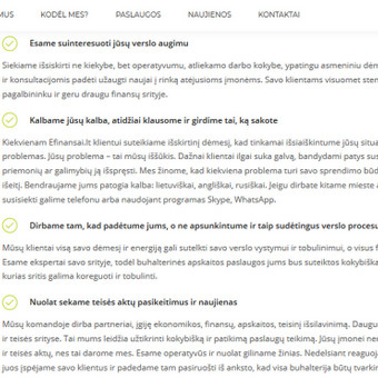 Straipsnių, tekstų svetainėms, reklamai rašymas / Monika Žiūkaitė / Darbų pavyzdys ID 639405