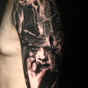 Kietos tattoo tik kietiems. / Evaldas(Mantikora) / Darbų pavyzdys ID 639945