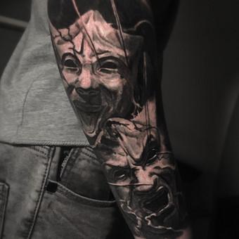 Kietos tattoo tik kietiems. / Evaldas(Mantikora) / Darbų pavyzdys ID 639953
