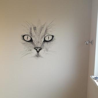 Meninis sienų dažymas / Meninis sienų dekoravimas / Darbų pavyzdys ID 640047