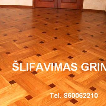 Slifavimas,atnaujinimas mediniu grindu,parketo / Slifavimas / Darbų pavyzdys ID 640851