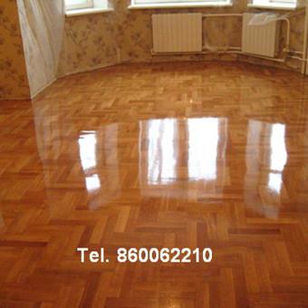 Slifavimas,atnaujinimas mediniu grindu,parketo / Slifavimas / Darbų pavyzdys ID 640855