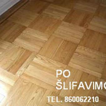 Slifavimas,atnaujinimas mediniu grindu,parketo / Slifavimas / Darbų pavyzdys ID 640865