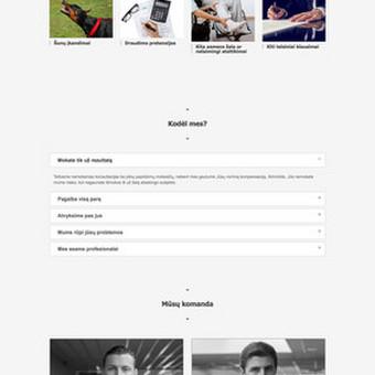 Svetainių kūrimas, web aplikacijų kūrimas / Vaidas Jokubauskas / Darbų pavyzdys ID 641557