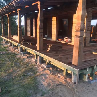 Carpenters Lietuva  Medžio darbai  Wood works / Aleksandras Anufrikovas / Darbų pavyzdys ID 642841