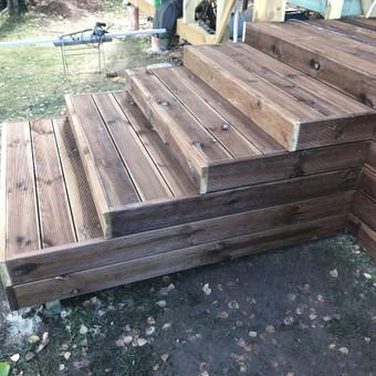 Carpenters Lietuva  Medžio darbai  Wood works / Aleksandras Anufrikovas / Darbų pavyzdys ID 642871