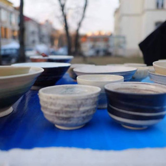 Andrius keramika, ŽIEDŽIU, LIPDAU, VILNIUS / Andrius keramika / Ramūs moliai / Darbų pavyzdys ID 645077