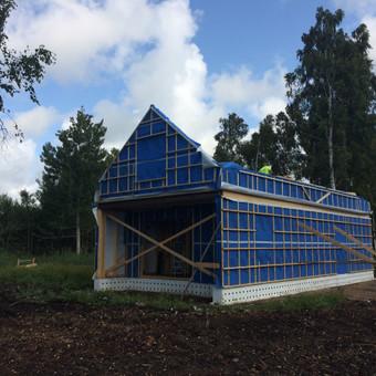 Individualių namų statyba.Karkasinių namų statyba. / Remigijus Valys / Darbų pavyzdys ID 647045