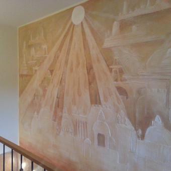 Interjero dekoravimas, bareljefai, freskos, sienų skulptūros / Lina / Darbų pavyzdys ID 647231