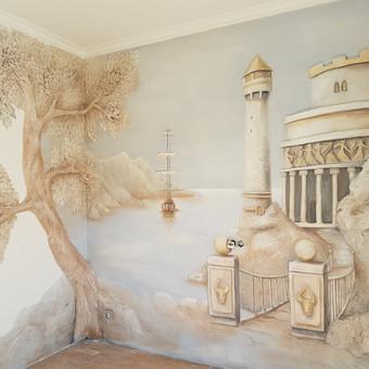 Interjero dekoravimas, bareljefai, freskos, sienų skulptūros / Lina / Darbų pavyzdys ID 647235