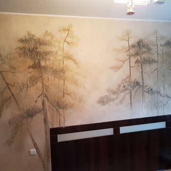 Interjero dekoravimas, bareljefai, freskos, sienų skulptūros / Lina / Darbų pavyzdys ID 647239