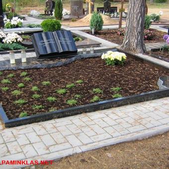 Paminklai, gaminiai is granito, kapų tvarkymas, skaldelė / Rimtas būstas / Darbų pavyzdys ID 647805