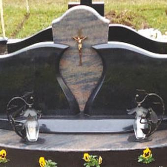 Paminklai, gaminiai is granito, kapų tvarkymas, skaldelė / Rimtas būstas / Darbų pavyzdys ID 647813