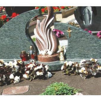 Paminklai, gaminiai is granito, kapų tvarkymas, skaldelė / Rimtas būstas / Darbų pavyzdys ID 647815