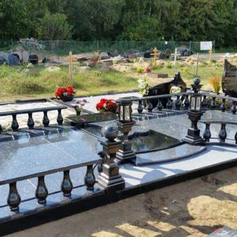 Paminklai, gaminiai is granito, kapų tvarkymas, skaldelė / Rimtas būstas / Darbų pavyzdys ID 647823