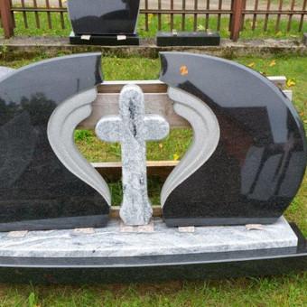 Paminklai, gaminiai is granito, kapų tvarkymas, skaldelė / Rimtas būstas / Darbų pavyzdys ID 647847