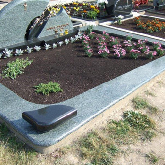 Paminklai, gaminiai is granito, kapų tvarkymas, skaldelė / Rimtas būstas / Darbų pavyzdys ID 647857