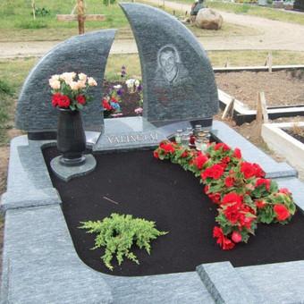 Paminklai, gaminiai is granito, kapų tvarkymas, skaldelė / Rimtas būstas / Darbų pavyzdys ID 647861