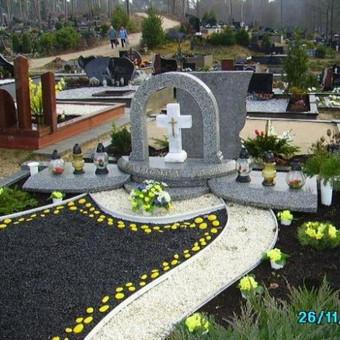 Paminklai, gaminiai is granito, kapų tvarkymas, skaldelė / Rimtas būstas / Darbų pavyzdys ID 647867
