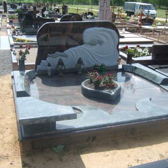 Paminklai, gaminiai is granito, kapų tvarkymas, skaldelė / Rimtas būstas / Darbų pavyzdys ID 647877