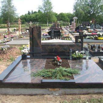 Paminklai, gaminiai is granito, kapų tvarkymas, skaldelė / Rimtas būstas / Darbų pavyzdys ID 647881