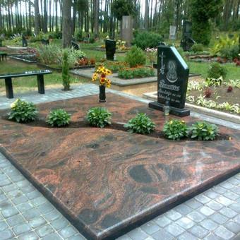 Paminklai, gaminiai is granito, kapų tvarkymas, skaldelė / Rimtas būstas / Darbų pavyzdys ID 647887