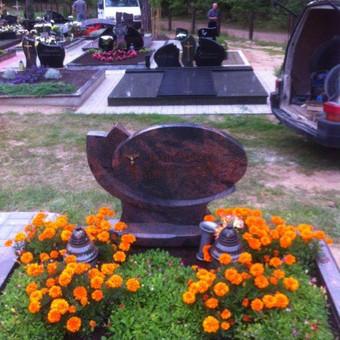 Paminklai, gaminiai is granito, kapų tvarkymas, skaldelė / Rimtas būstas / Darbų pavyzdys ID 647897