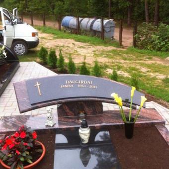 Paminklai, gaminiai is granito, kapų tvarkymas, skaldelė / Rimtas būstas / Darbų pavyzdys ID 647901