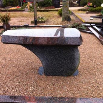 Paminklai, gaminiai is granito, kapų tvarkymas, skaldelė / Rimtas būstas / Darbų pavyzdys ID 647933