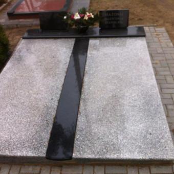 Paminklai, gaminiai is granito, kapų tvarkymas, skaldelė / Rimtas būstas / Darbų pavyzdys ID 647935