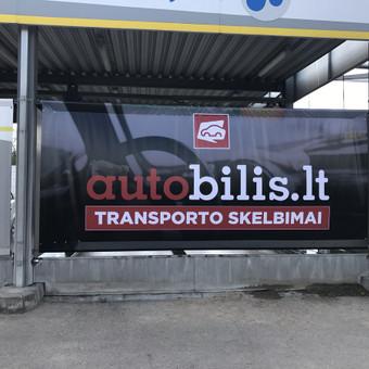 Stendų gamyba, sunkvežimių tentų gamyba, reklamos remontas / Marius / Darbų pavyzdys ID 648545