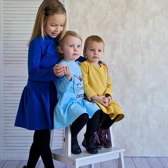 Siuvinėta suknytė mergaitei. Daugiau rasite čia: https://www.facebook.com/pg/happyangels.lt/shop/?ref=page_internal