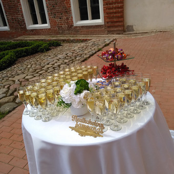 Šampano staliukas po ceremonijos / Eglė Ivanskaja / Darbų pavyzdys ID 655353