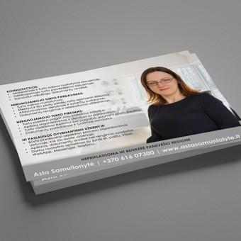 Grafikos dizainerė - maketuotoja / Greta / Darbų pavyzdys ID 655899