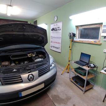 Peugeot Renault Citroen diagnostika, elektronikos remontas / Laimonas / Darbų pavyzdys ID 658843