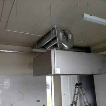 Rekuperacijos-Vėdinimo sistemos įrengimas / Aidas Vaitkaitis / Darbų pavyzdys ID 659103