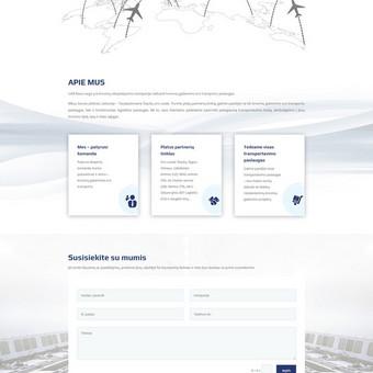 UAB Rava Cargo, užsiimančia krovinių gabenimu oro transportu, internetinė svetainė: rava.lt