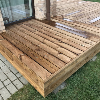 Carpenters Lietuva  Medžio darbai  Wood works / Aleksandras Anufrikovas / Darbų pavyzdys ID 662297