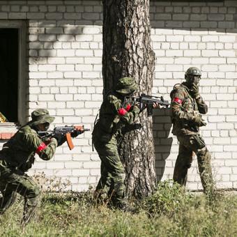 Kariniai airsoft (šratsvydžio) žaidimai / Taktinės pramogos, VšĮ / Darbų pavyzdys ID 662849
