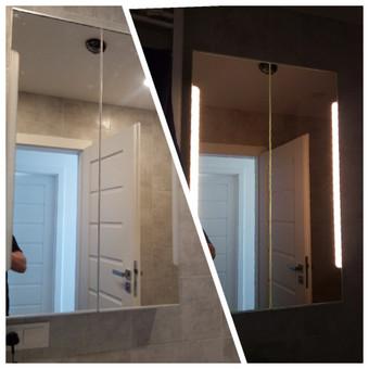 Ikea vonios spintelės surinkimas / pakabinimas / šviesos pajungimas