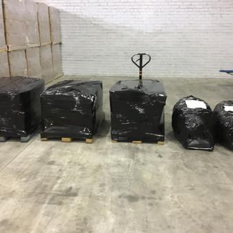pakavimo medžiagos, sandėliavimo paslaugos