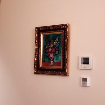 Paveikslų kabinimas Jūsų namuose, biure, galerijoje...